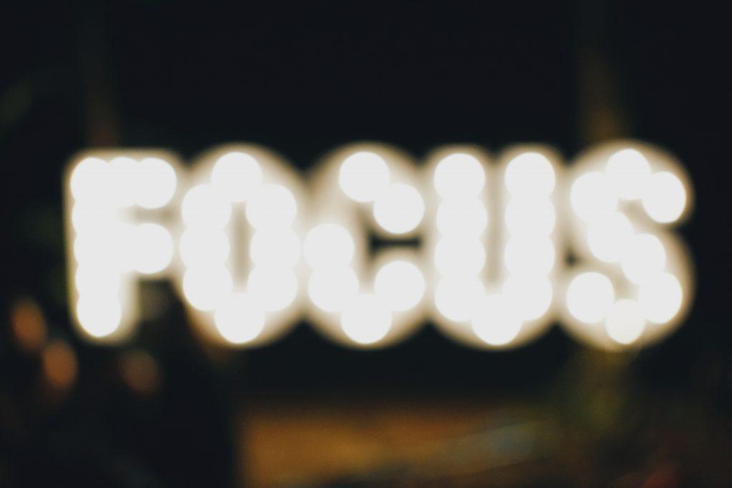 Een vol hoofd verpest je focus
