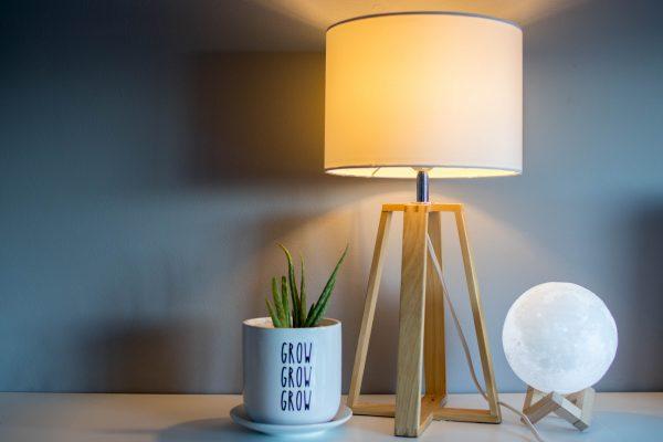 Lampenkap maken & onze nieuwe retro staande lampenkap